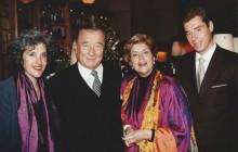 Fern Berman, Sirio Maccioni, Lynne Rossetto Kasper, Mauro Maccioni